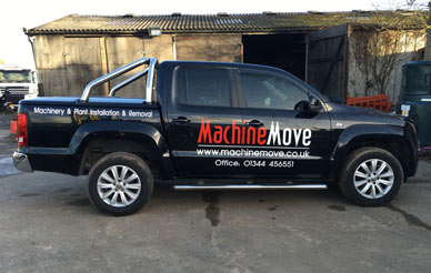 Machinemove - Crane assisted transport - Haulage